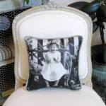 Leather Portrait Pillow